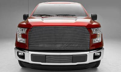 T-REX Grilles - 2015-2017 F-150 Billet Grille, Polished, 1 Pc, Replacement, Does Not Fit Vehicles with Camera - PN #20573 - Image 1