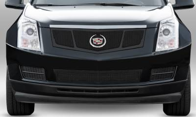 T-REX Grilles - 2010-2016 Cadillac SRX Upper Class Series Bumper Grille, Black, 1 Pc, Overlay, Full Opening - PN #52186 - Image 2