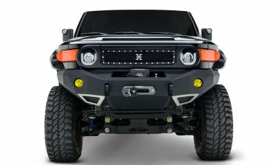 T-REX Grilles - 2007-2014 Toyota FJ Cruiser X-Metal Grille, Black, 1 Pc, Insert, Chrome Studs - PN #6719321 - Image 1