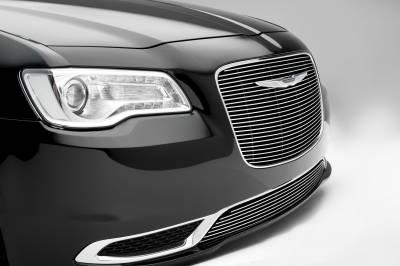 T-REX Grilles - 2015-2018 Chrysler 300 Billet Grille, Polished, 1 Pc, Overlay - PN #21436 - Image 3