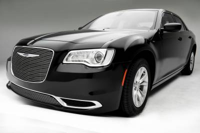 T-REX Grilles - 2015-2018 Chrysler 300 Billet Grille, Polished, 1 Pc, Overlay - PN #21436 - Image 4