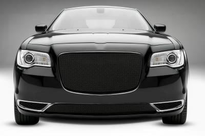 T-REX Grilles - 2015-2018 Chrysler 300 Sport Grille, Black, 1 Pc, Overlay - PN #46436 - Image 1