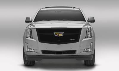 T-REX Grilles - 2015i-2020 Escalade Upper Class Series Main Grille, Black, 1 Pc, Replacement, Fits Vehicles with Camera - PN #51181 - Image 2