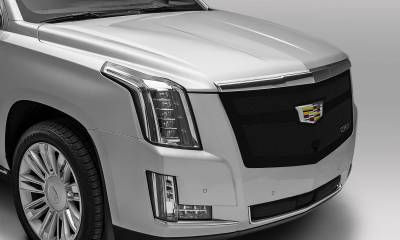 T-REX Grilles - 2015i-2020 Escalade Upper Class Series Main Grille, Black, 1 Pc, Replacement, Fits Vehicles with Camera - PN #51181 - Image 4
