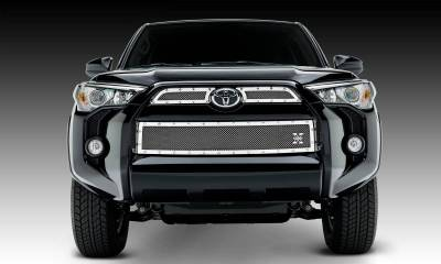 T-REX Grilles - 2014-2019 Toyota 4Runner X-Metal Grille, Polished, 3 Pc, Overlay, Chrome Studs - PN #6719490 - Image 1