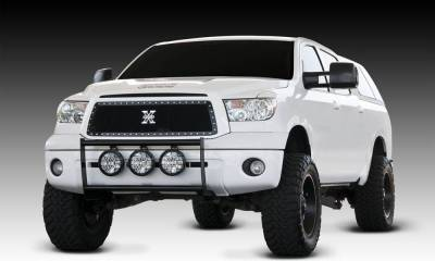 T-REX Grilles - 2010-2013 Tundra X-Metal Grille, Black, 1 Pc, Insert, Chrome Studs - PN #6719631 - Image 1