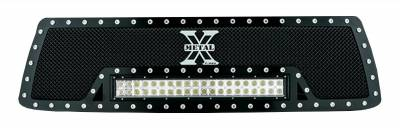 """T-REX Grilles - 2010-2013 Tundra Torch Grille, Black, 1 Pc, Insert, Chrome Studs with (1) 20"""" LED - PN #6319631 - Image 4"""
