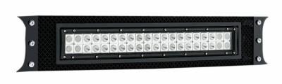 "T-REX Grilles - 2011-2016 Super Duty Torch Bumper Grille, Black, 1 Pc, Bolt-On, Chrome Studs with (1) 20"" LED - PN #6325461 - Image 2"