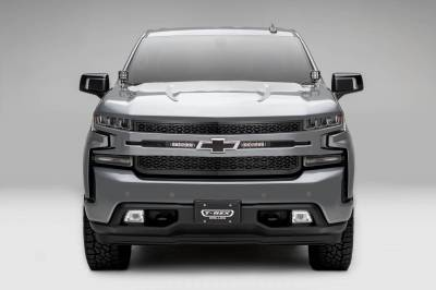 "ZROADZ - 2019-2021 Silverado 1500 ZROADZ Grille, Black, 1 Pc, Replacement with (2) 6"" LEDs, Does Not Fit Vehicles with Camera - PN #Z311261 - Image 2"