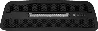 "T-REX Grilles - 2013-2018 Ram 2500, 3500 ZROADZ Grille, Black, 1 Pc, Replacement with (1) 20"" LED - PN #Z314521 - Image 2"