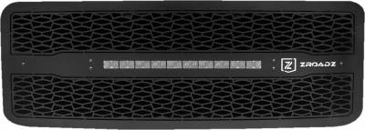 "T-REX Grilles - 2011-2016 Super Duty ZROADZ Grille, Black, 1 Pc, Insert with (1) 20"" LED - PN #Z315461 - Image 2"