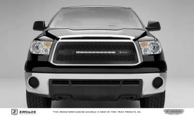 "T-REX Grilles - 2010-2013 Tundra ZROADZ Grille, Black, 1 Pc, Insert with (1) 20"" LED - PN #Z319631"