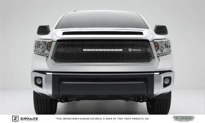 "T-REX Grilles - 2014-2017 Tundra ZROADZ Grille, Black, 1 Pc, Replacement with (1) 20"" LED - PN #Z319641"