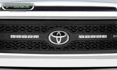 """T-REX Grilles - 2018-2021 Tundra ZROADZ Grille, Black, 1 Pc, Replacement with (2) 10"""" LEDs, Does Not Fit Vehicles with Camera - PN #Z319661 - Image 6"""