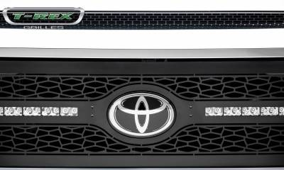 """T-REX Grilles - 2018-2021 Tundra ZROADZ Grille, Black, 1 Pc, Replacement with (2) 10"""" LEDs, Does Not Fit Vehicles with Camera - PN #Z319661 - Image 7"""