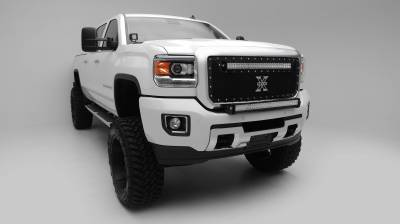 ZROADZ - 2015-2019 Silverado, Sierra HD Front Bumper Top LED Bracket to mount (1) 30 Inch LED Light Bar - PN #Z321221 - Image 5