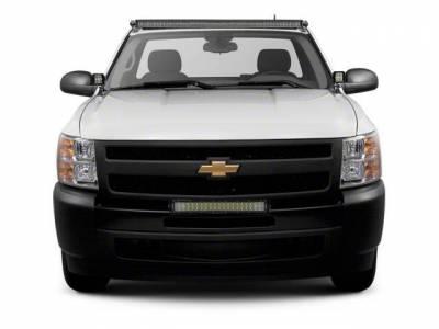 ZROADZ - 2007-2013 Chevrolet Silverado 1500 Front Bumper Top LED Bracket to mount (1) 30 Inch LED Light Bar - PN #Z322051