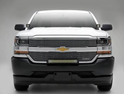 ZROADZ - 2016-2018 Chevrolet Silverado 1500 Front Bumper Top LED Kit with (1) 30 Inch LED Straight Double Row Light Bar - PN #Z322082-KIT - Image 3