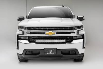 ZROADZ - 2019-2021 Chevrolet Silverado 1500 Front Bumper Top LED Kit with (1) 30 Inch LED Curved Double Row Light Bar - PN #Z322282-KIT - Image 3