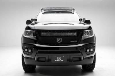 T-REX Grilles - 2015-2020 Chevrolet Colorado Front Bumper OEM Fog LED Bracket to mount (4) 3 Inch LED Pod Lights - PN #Z322671 - Image 2
