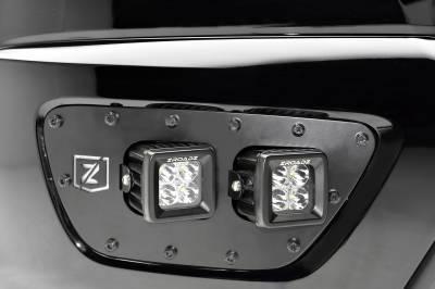 ZROADZ - 2015-2020 Chevrolet Colorado Front Bumper OEM Fog LED Kit with (4) 3 Inch LED Pod Lights - PN #Z322671-KIT - Image 3