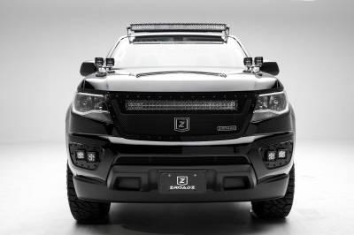 ZROADZ - 2015-2020 Chevrolet Colorado Front Bumper OEM Fog LED Kit with (4) 3 Inch LED Pod Lights - PN #Z322671-KIT - Image 5