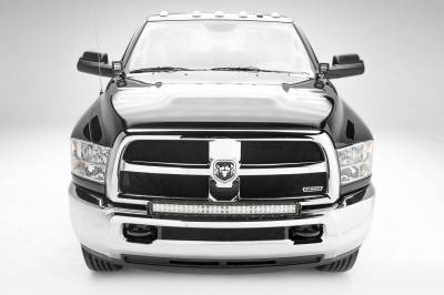 ZROADZ - 2010-2018 Ram 2500, 3500 Front Bumper Top LED Kit with (1) 30 Inch LED Curved Double Row Light Bar - PN #Z324522-KIT - Image 2
