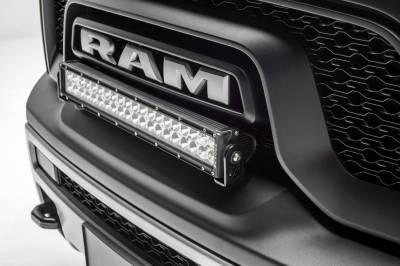 ZROADZ - 2015-2018 Ram Rebel Front Bumper Top LED Bracket to mount (1) 20 Inch LED Light Bar - PN #Z324552 - Image 1