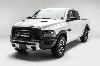 ZROADZ - 2015-2018 Ram Rebel Front Bumper Top LED Kit with (1) 20 Inch LED Straight Double Row Light Bar - PN #Z324552-KIT - Image 2