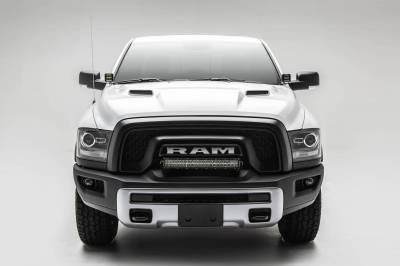 ZROADZ - 2015-2018 Ram Rebel Front Bumper Top LED Kit with (1) 20 Inch LED Straight Double Row Light Bar - PN #Z324552-KIT - Image 3
