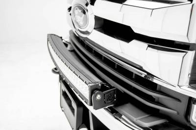ZROADZ - 2017-2019 Ford Super Duty Front Bumper Top LED Bracket to mount (1) 30 Inch Curved LED Light Bar - PN #Z325472 - Image 2