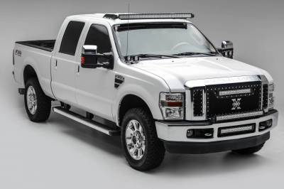 ZROADZ - 2008-2010 Ford Super Duty Front Bumper Top LED Kit with (1) 30 Inch LED Straight Double Row Light Bar - PN #Z325631-KIT - Image 2