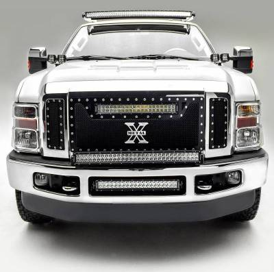 ZROADZ OFF ROAD PRODUCTS - 2008-2010 Ford Super Duty Front Bumper Center LED Bracket to mount 20 Inch LED Light Bar - PN #Z325632 - Image 3