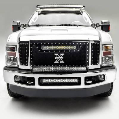 ZROADZ - 2008-2010 Ford Super Duty Front Bumper Center LED Bracket to mount 20 Inch LED Light Bar - PN #Z325632 - Image 3