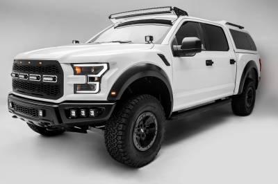 ZROADZ - 2017-2021 Ford F-150 Raptor Front Bumper OEM Fog LED Kit with (6) 3 Inch LED Pod Lights - PN #Z325652-KIT - Image 8