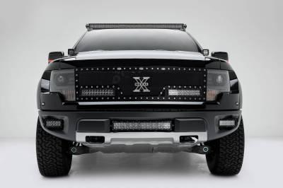 ZROADZ - 2010-2014 Ford F-150 Raptor Front Bumper Center LED Bracket to mount 20 Inch LED Light Bar - PN #Z325661 - Image 4