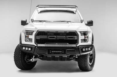 ZROADZ - 2017-2021 Ford F-150 Raptor Front Bumper Top LED Bracket to mount 40 Inch Curved LED Light Bar - PN #Z325662 - Image 6