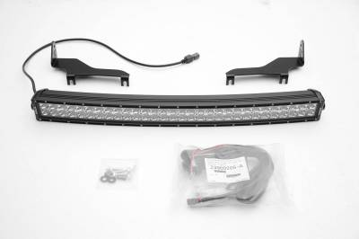 ZROADZ - 2017-2021 Ford F-150 Raptor Front Bumper Top LED Kit with 40 Inch LED Curved Double Row Light Bar - PN #Z325662-KIT - Image 2