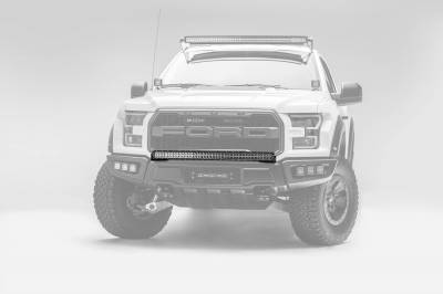 ZROADZ - 2017-2021 Ford F-150 Raptor Front Bumper Top LED Kit with 40 Inch LED Curved Double Row Light Bar - PN #Z325662-KIT - Image 7