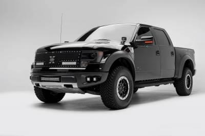ZROADZ - 2010-2014 Ford F-150 Raptor Front Bumper OEM Fog LED Bracket to mount (2) 3 Inch LED Pod Lights - PN #Z325671 - Image 2