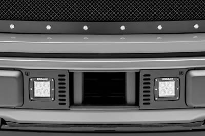 ZROADZ - 2018-2020 Ford F-150 Lariat, Limited Front Bumper Center LED Kit with (2) 3 Inch LED Pod Lights - PN# Z325711-KIT - Image 1