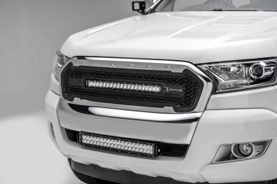 ZROADZ - 2015-2018 Ford Ranger T6 Front Bumper Center LED Bracket to mount 20 Inch LED Light Bar - PN #Z325761 - Image 1