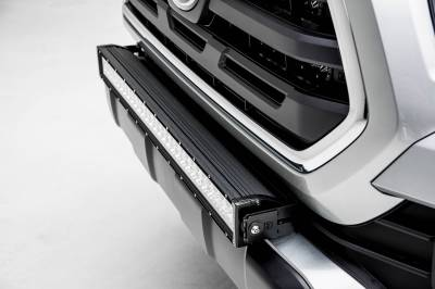 ZROADZ - 2018-2021 Toyota Tacoma Front Bumper Center LED Bracket to mount 30 Inch LED Light Bar - PN #Z329511 - Image 4