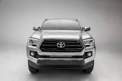 ZROADZ OFF ROAD PRODUCTS - 2018-2021 Toyota Tacoma Front Bumper Center LED Kit with (1) 20 Inch LED Straight Single Row Slim Light Bar - PN #Z329512-KIT - Image 7
