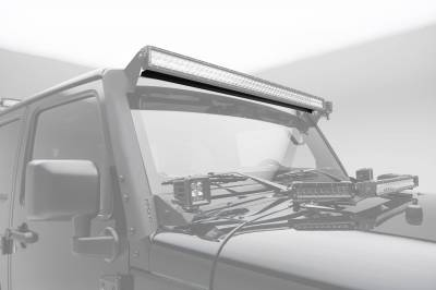ZROADZ - Noise Cancelling Wind Diffuser for (1) 50 Inch Straight LED Light Bar - PN #Z330050S - Image 2
