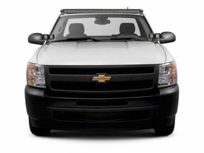 ZROADZ - 2007-2013 Silverado, Sierra 1500 Front Roof LED Bracket to mount (1) 50 Inch Curved LED Light Bar - PN #Z332051 - Image 2