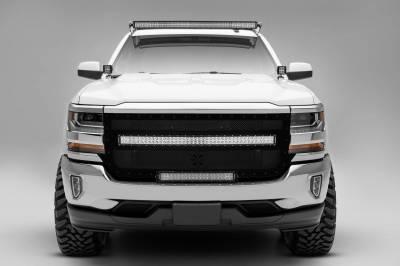 ZROADZ - Silverado, Sierra Front Roof LED Bracket to mount (1) 50 Inch Curved LED Light Bar - PN #Z332081 - Image 3