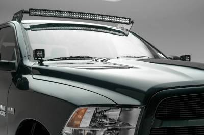 ZROADZ - Ram Front Roof LED Kit with (1) 50 Inch LED Curved Double Row Light Bar - PN #Z334521-KIT-C - Image 3