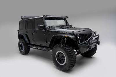 ZROADZ OFF ROAD PRODUCTS - 2007-2018 Jeep JK Front Roof LED Bracket to mount (2) 3 Inch LED Pod Lights - PN #Z334811 - Image 3