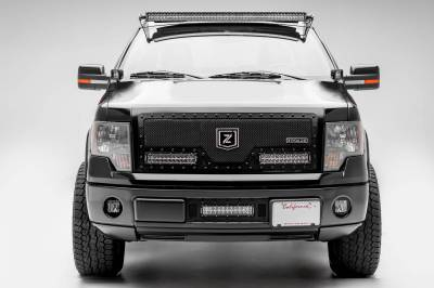 ZROADZ - 2009-2014 Ford F-150, Raptor Front Roof LED Bracket to mount (1) 50 Inch Staight LED Light Bar - PN #Z335121 - Image 3